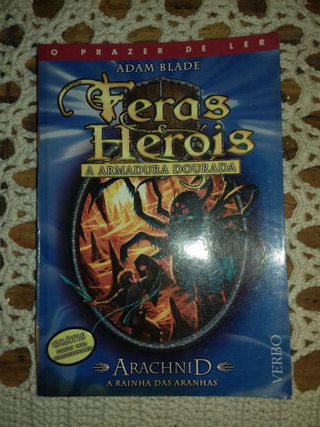Livro da colecção Feras e Heróis- Arachinid