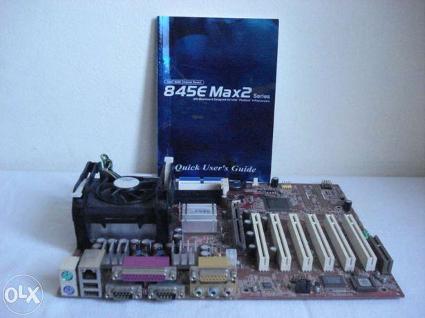 Motherboard + CPU + Cooler + Manual