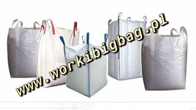 Worki Big Bag Bagi Sprzedąż HURT i DETAL bigbag 100x92x144 WYSYŁKA
