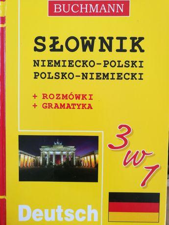 Słownik niemiecko-polski polsko-niemiecki Buchmann