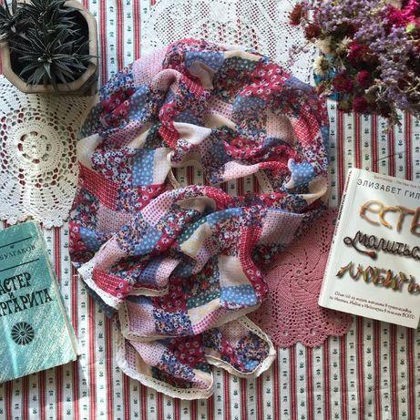 Легкий шарф платок палантин TU
