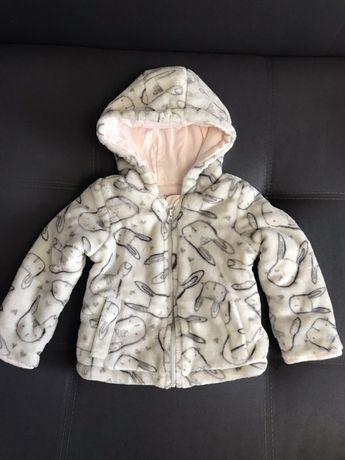 Курточка меховушка на мылышку 9-12 месяцев