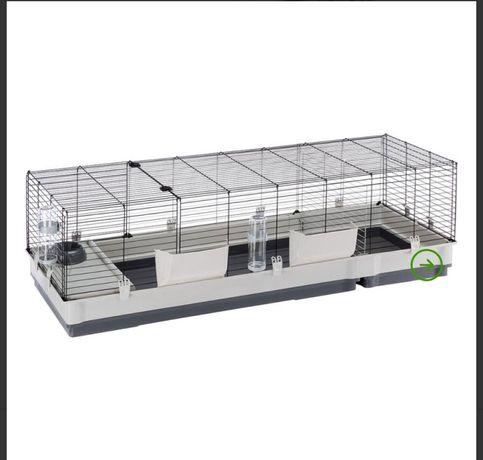 Klatka dla gryzoni królika, świnki morskiej.plaza 160, ferplast 120