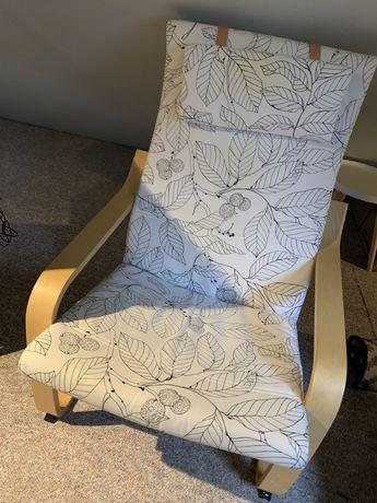 Fotel ikea drewno