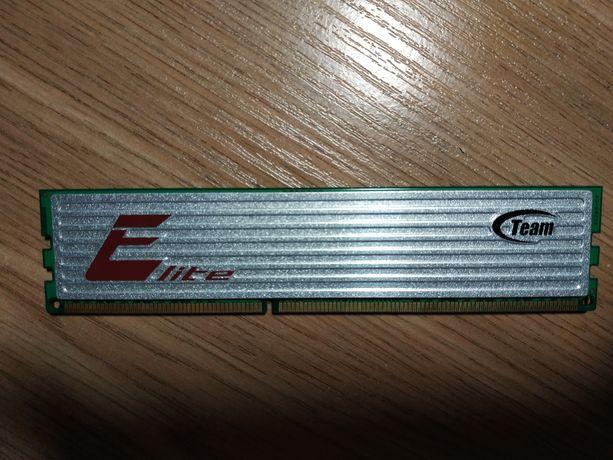 Оперативная  память 2GB  DDR3 1333MHz  Team  Elite