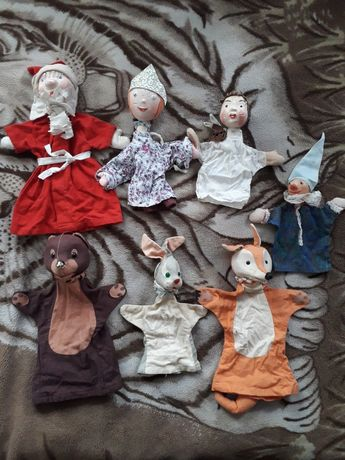 Куклы СССР на руку.Кукольный театр