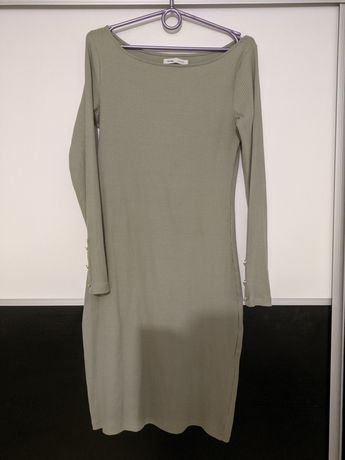 Sukienka miętowa 38
