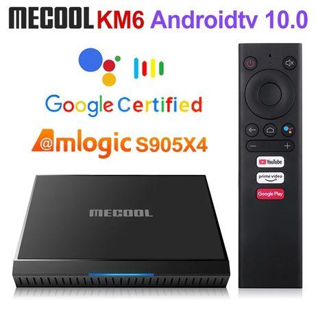 Андроид- приставка Mecool Km6 Classic,2/16, Amlogic S905X4