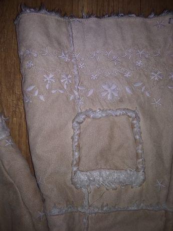 Kożuszek płaszcz jesień zima  18 miesiecy