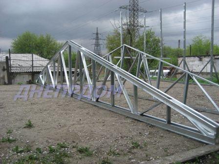 Продам фермы металлические оцинкованные 12 метровые новые