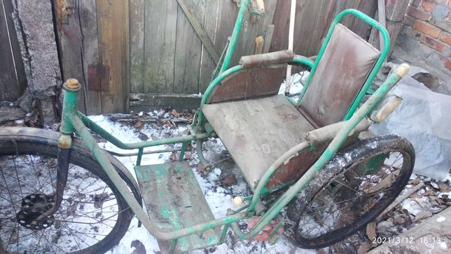 Инвалидная велоколяска