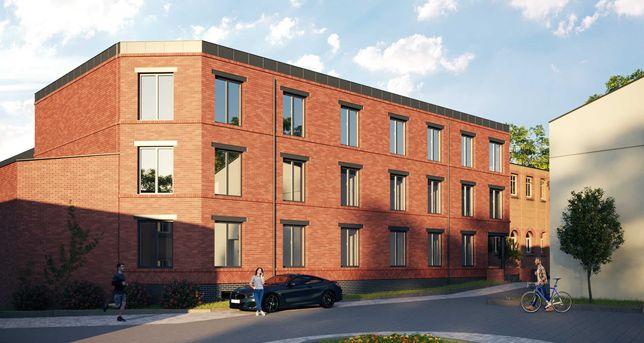 Budynek biurowo - usługowy centrum Zielonej Góry, dzielnica loftowa