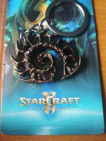 "[Starcraft] Брелок ""Zerg"" игры Blizzard геймер Warcraft старкрафт филь"