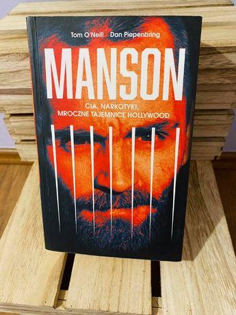 Książka Manson. CIA, narkotyki, mroczne tajemnice Hollywood