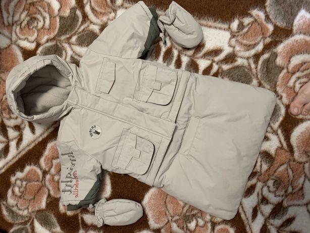 Комбинезон-трансформер Coccodrillo 2в1 (конверт, куртка)