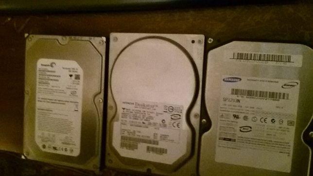 Жесткие диски Samsung, Hitachi, Seagate Barracuda (цена за 3 штуки)