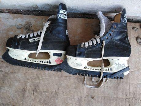 Stare używane łyżwy BAUER