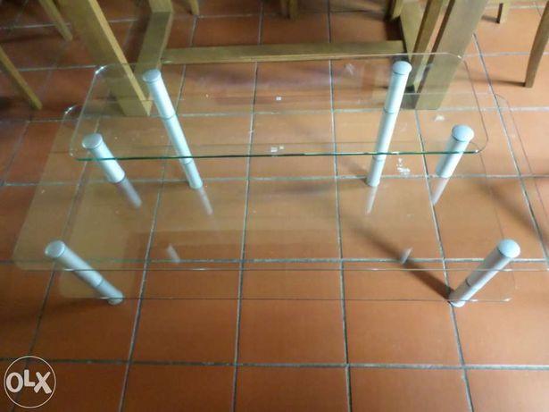 Estante/Mesa de Vidro