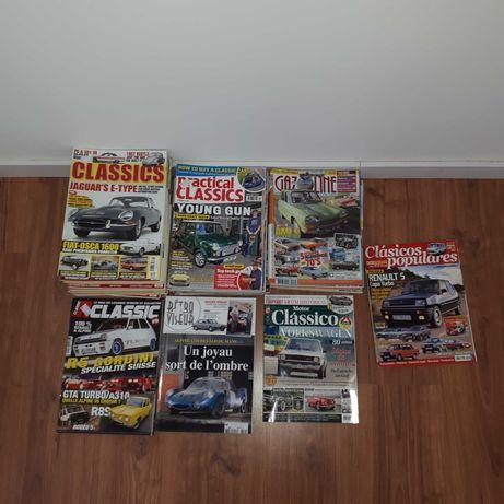 Revistas sobre automóveis clássicos