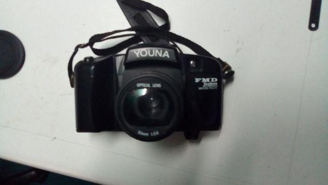 Máquina fotografica antiga