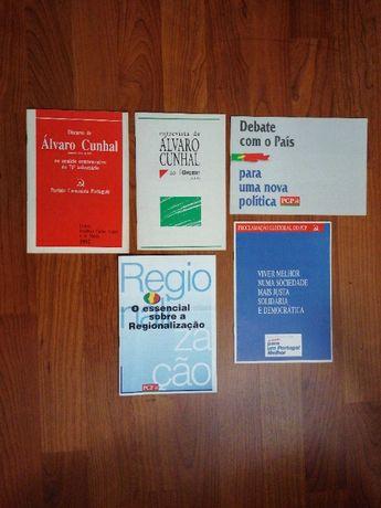 Partido Comunista Português - Propaganda brochuras--documentos