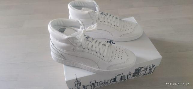 Кроссовки PUMA Ralph Sampson Mid Blank Sneakers