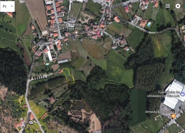 Terreno com 1100m2 em Cesar, Oliveira de Azemeis