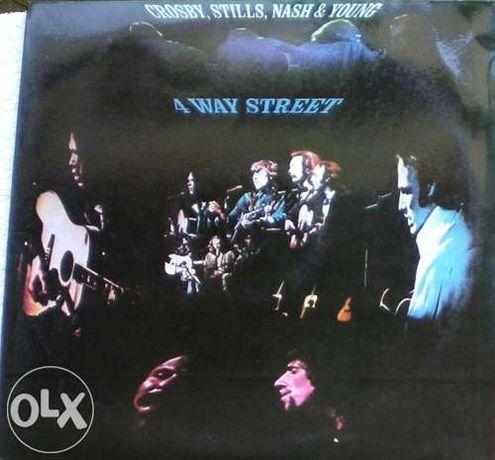 Crosby, Stills, Nash & Young - 4 Way Street (1971) LP vinil duplo