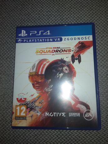 Gra squadrons PS4 nowa