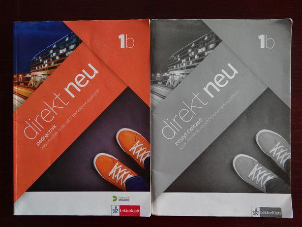 """Podręcznik i ćwiczenia do Języka Niemieckiego """"Direkt neu 1B"""""""