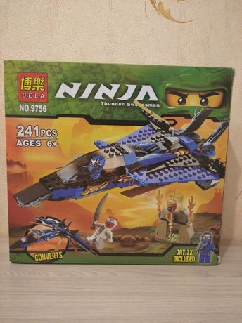 Конструктор Лего NINJA самолёт