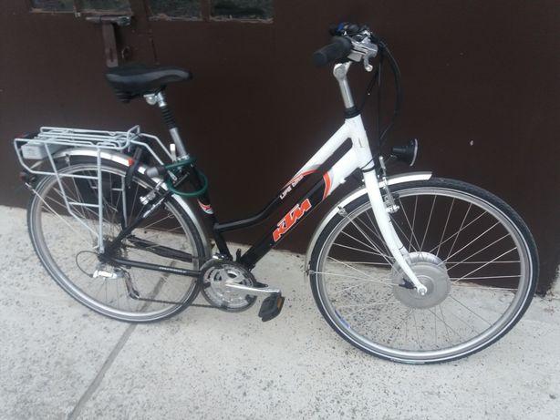 rower elektryczny ktm life blitz