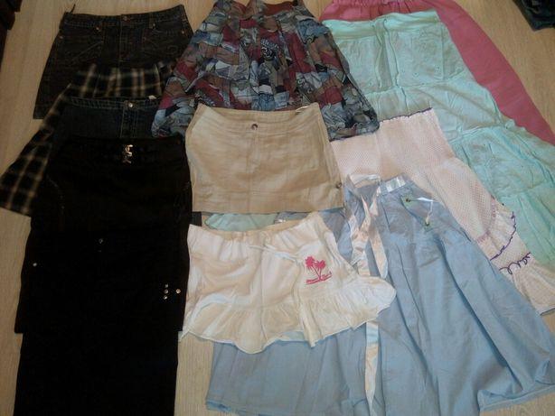 Юбки, юбочки, спідниці. Цена за пакет, но можно отдельно
