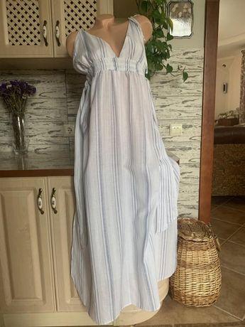 Пляжное платье сарафан марлевка ASOS 52-54 размер