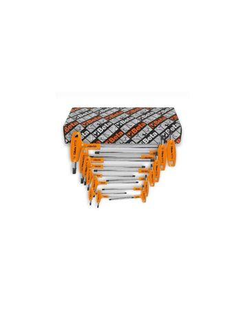 Jogo 8 chaves sextavadas com punho para parafusos Torx® BETA 97TTX/S6