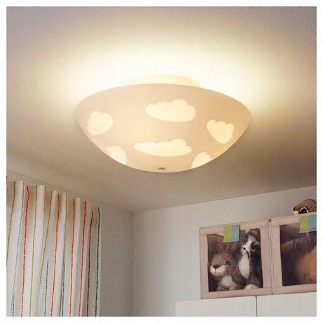 Lampa IKEA chmurka