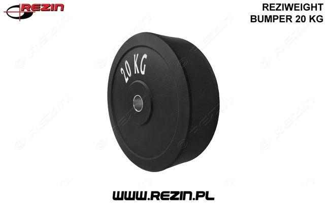 Obciążenie *20KG* olimpijskie gumowe REZIWEIGHT bumper - 20KG - REZIN