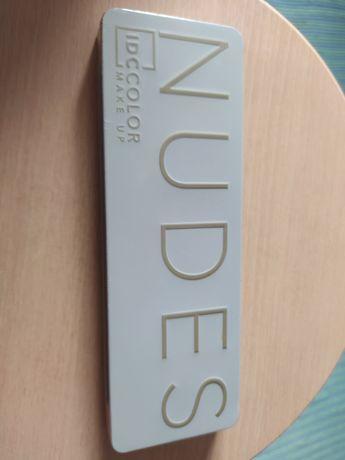 Paleta de sombras IDC Color Make Up Nudes já utilizada