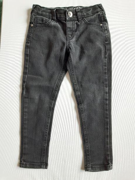 Czarne jeansy rurki Denim Co 104