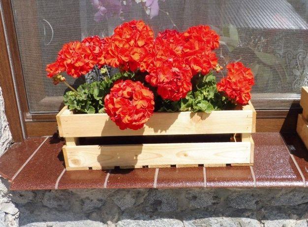 Skrzynka dekoracyjna na doniczki kwiatowe, różne rozmiary tania wysyłk