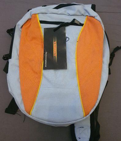 NOWY plecak DWUSTRONNY 4 kieszenie