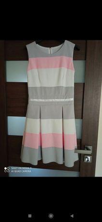kolorowa sukienka duet
