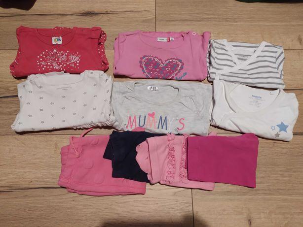 Zestaw ubrań dla dziewczynki 74-80