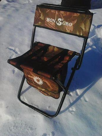 стул раскладной с карманами