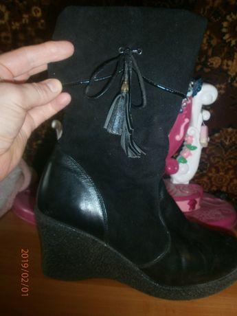 женский  зимний ботинок