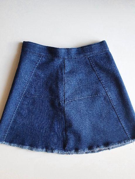 Spódniczka Yeansowa Spódnica Reserved 134