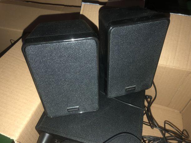 Głośniki Modecom do komputera z subwooferem