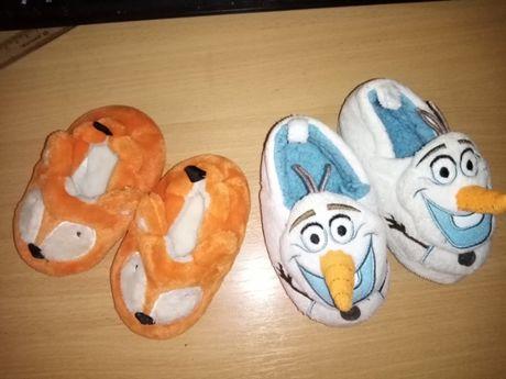 тапочки-игрушки (в наличии только лисички)
