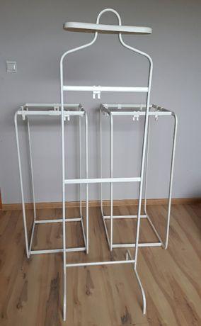Metalowy stojak/ wieszak na ubrania Ikea