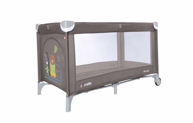 Кроватка-манеж Carrello Piccolo цвет коричневый